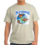 Sledding Ash Grey T-Shirt
