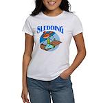 Sledding Women's T-Shirt