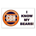 BearsHistory.com Rectangle Sticker