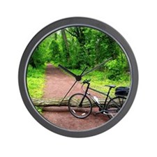 Bike Trail Wall Clock