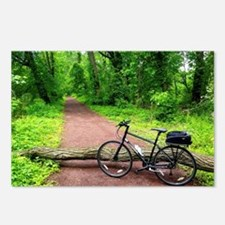Bike Trail Postcards (Package of 8)