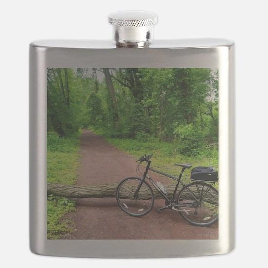Bike Trail Flask