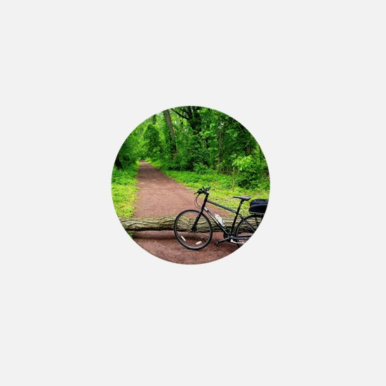 Bike Trail Mini Button