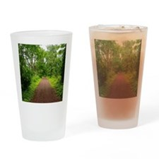Trail in the Woods Drinking Glass