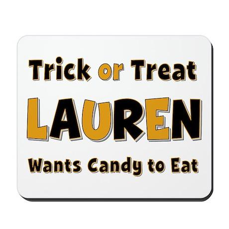 Lauren Trick or Treat Mousepad