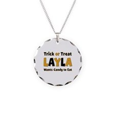 Layla Trick or Treat Necklace
