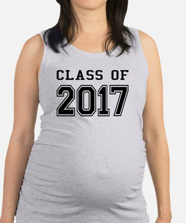 Class of 2017 Maternity Tank Top