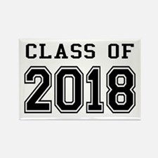 Class of 2018 Rectangle Magnet