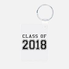 Class of 2018 Aluminum Photo Keychain