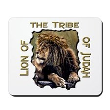Lion of Judah 11 Mousepad