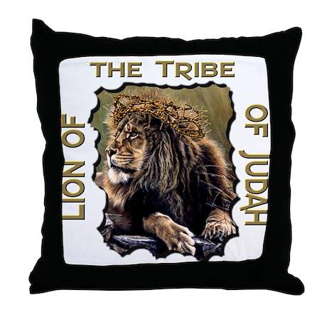 Lion of Judah 11 Throw Pillow