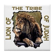 Lion of Judah 11 Tile Coaster