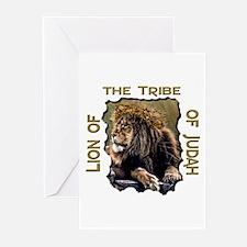 Lion of Judah 11 Greeting Cards (Pk of 10)