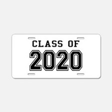 Class of 2020 Aluminum License Plate