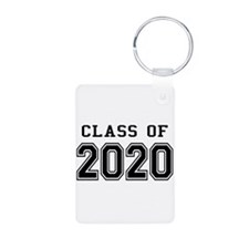Class of 2020 Aluminum Photo Keychain