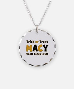 Macy Trick or Treat Necklace