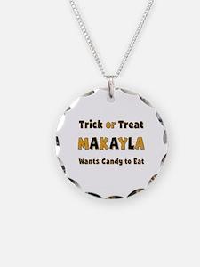 Makayla Trick or Treat Necklace