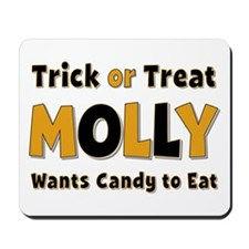 Molly Trick or Treat Mousepad