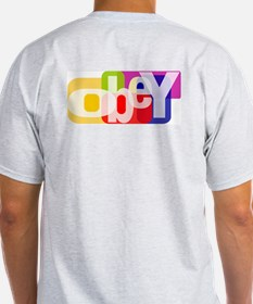 Obey The Ash Grey T-Shirt