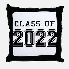 Class of 2022 Throw Pillow