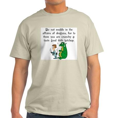 The Affairs of Dragons Ash Grey T-Shirt