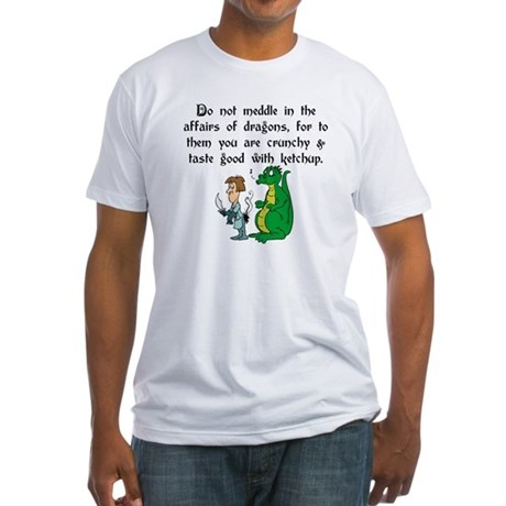 The Affairs of Dragons Fitted T-Shirt