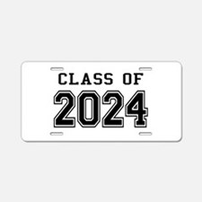 Class of 2024 Aluminum License Plate