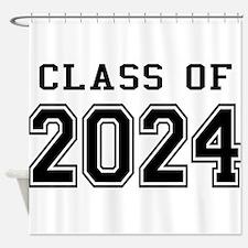 Class of 2024 Shower Curtain