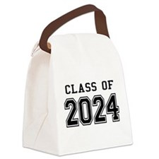 Class of 2024 Canvas Lunch Bag