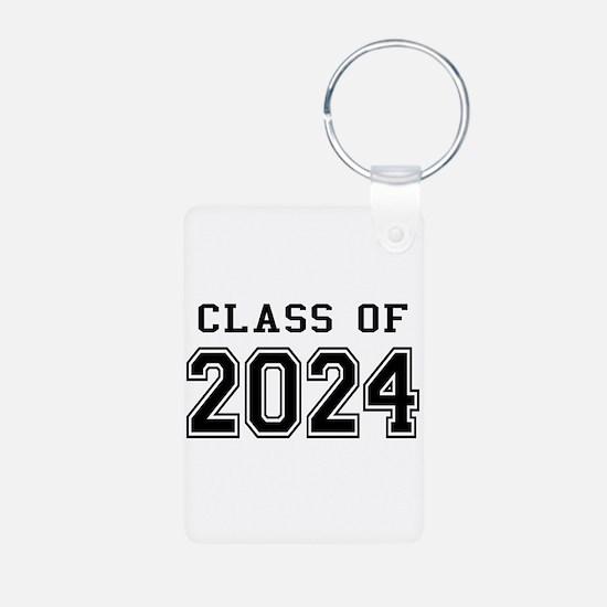 Class of 2024 Aluminum Photo Keychain