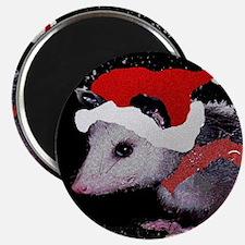 Possum Santa Magnet