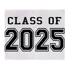 Class of 2024 Throw Blanket