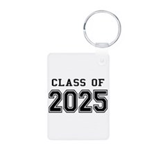 Class of 2024 Aluminum Photo Keychain