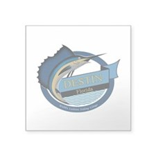 Destin Florida Fishing Sticker