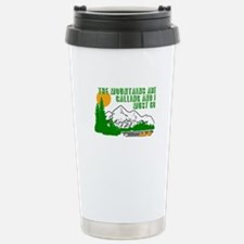 Mountains Are Calling Travel Mug
