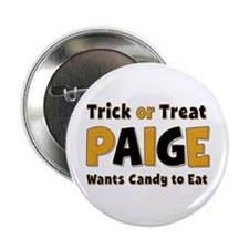 Paige Trick or Treat Button
