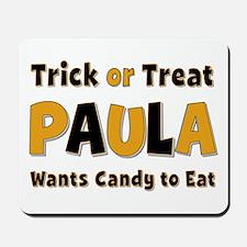 Paula Trick or Treat Mousepad