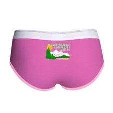 Mountains Are Calling Women's Boy Brief