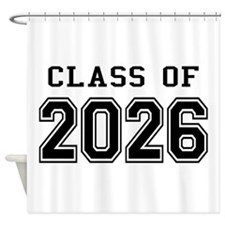 Class of 2026 Shower Curtain