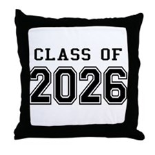 Class of 2026 Throw Pillow