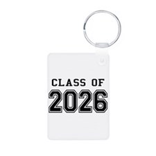 Class of 2026 Aluminum Photo Keychain