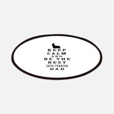 Skye Terrier Dad Designs Patches