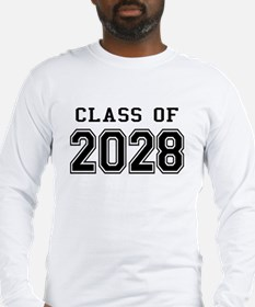 Class of 2028 Long Sleeve T-Shirt