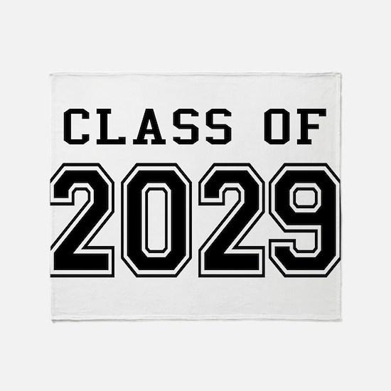 Class of 2029 Throw Blanket