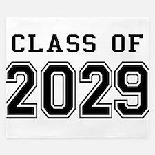 Class of 2029 King Duvet