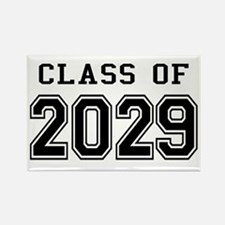 Class of 2029 Rectangle Magnet
