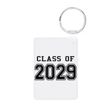 Class of 2029 Aluminum Photo Keychain