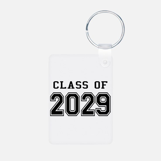 Class of 2029 Aluminum Photo Keychain