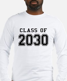 Class of 2030 Long Sleeve T-Shirt