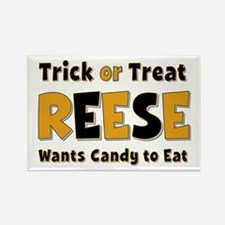 Reese Trick or Treat Rectangle Magnet
